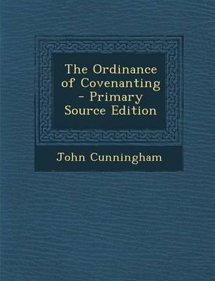 Ordinance of Covenanting