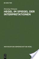 Hegel im Spiegel der Interpretationen