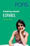 Gramática esencial Español