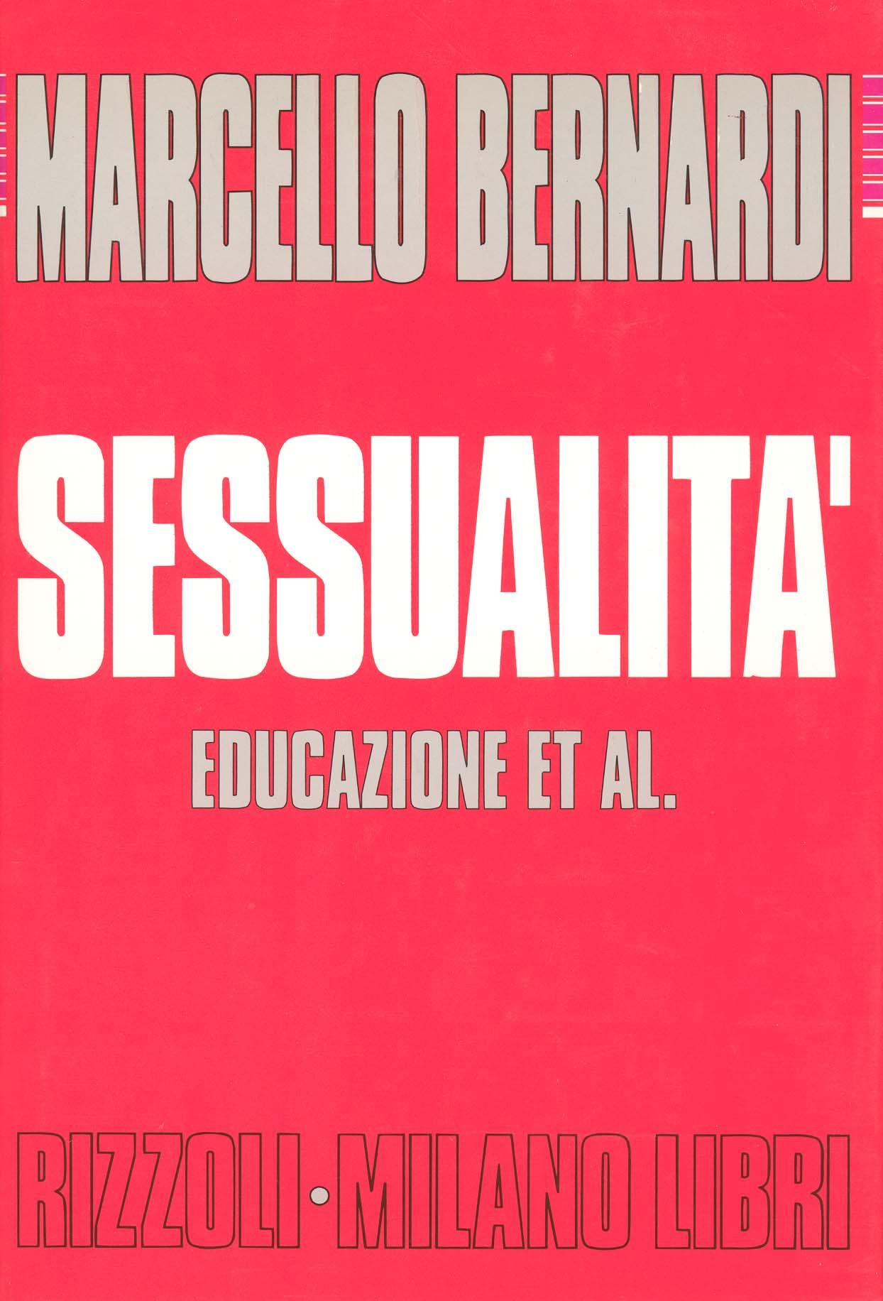 Sessualità, educazione et al.