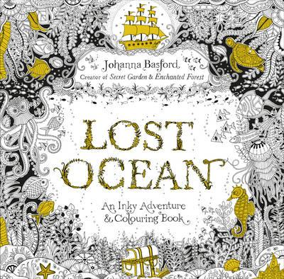 Lost ocean. An inky adventure & colouring book