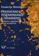 Prassifane. Testimonianze e frammenti