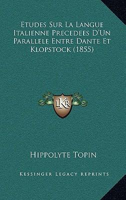 Etudes Sur La Langue...