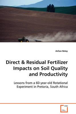 Direct & Residual Fertilizer Impacts on Soil Quality and Productivity