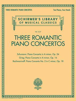 Three Romantic Piano Concertos