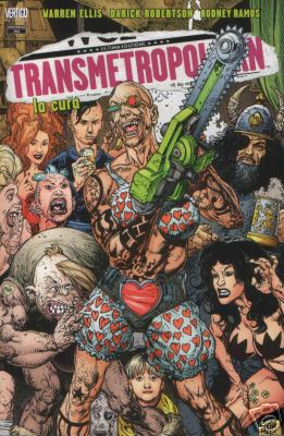 Transmetropolitan TP10