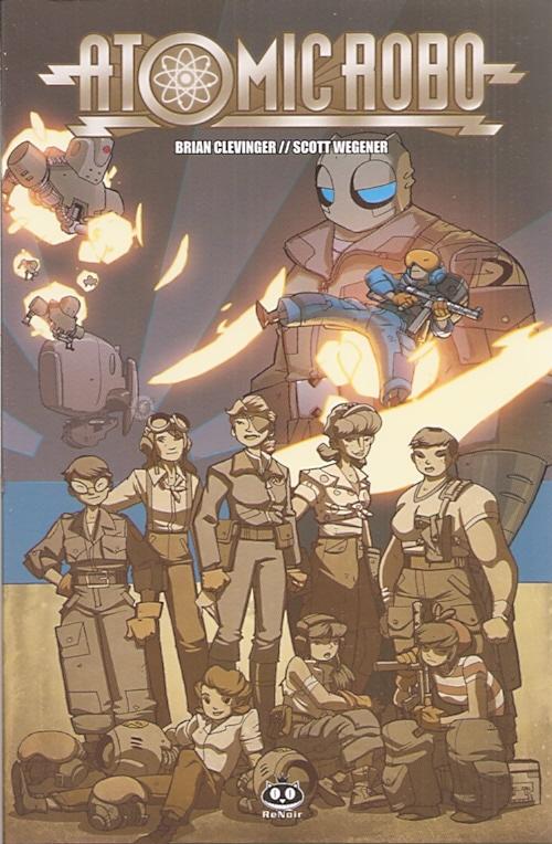 Atomic Robo vol. 7