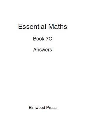 Essential Maths Book 7c Answers