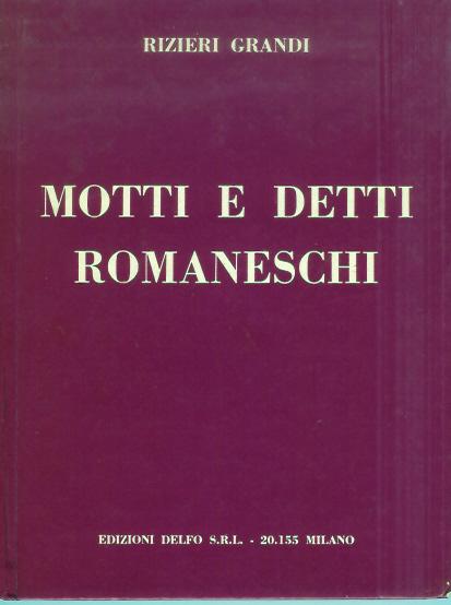 Motti e detti romaneschi