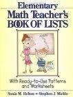 Elementary Math Teacher's Book Of L