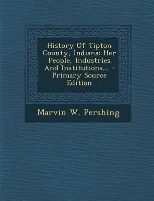 History of Tipton County, Indiana