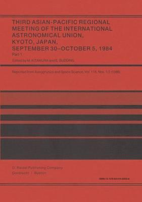 Third Asian-Pacific Regional Meeting of the International Astronomical Union