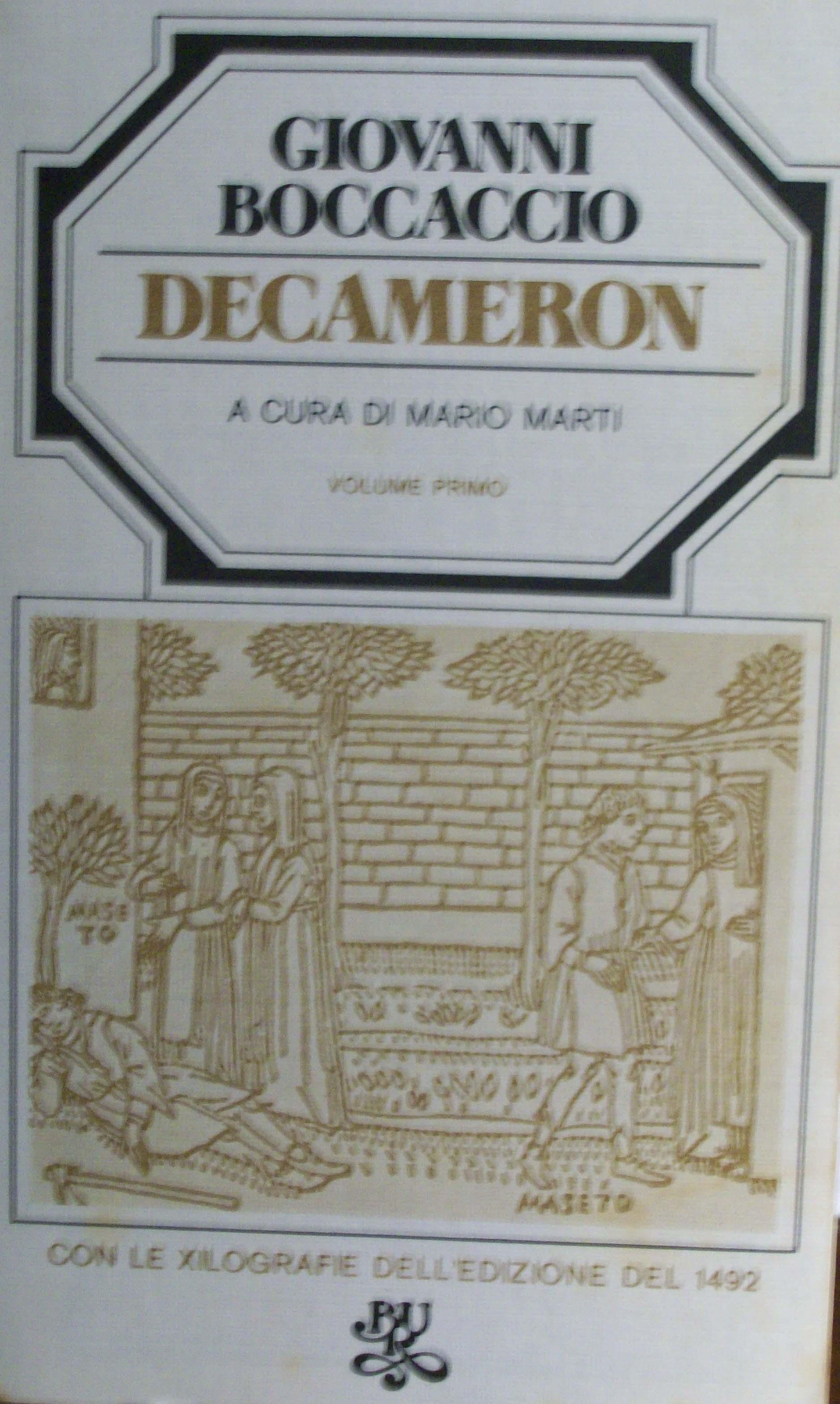 Decameron vol. I