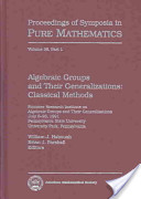 Algebraic Groups and Their Generalizations: Classical methods