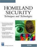 Homeland Security Techniques & Technologies