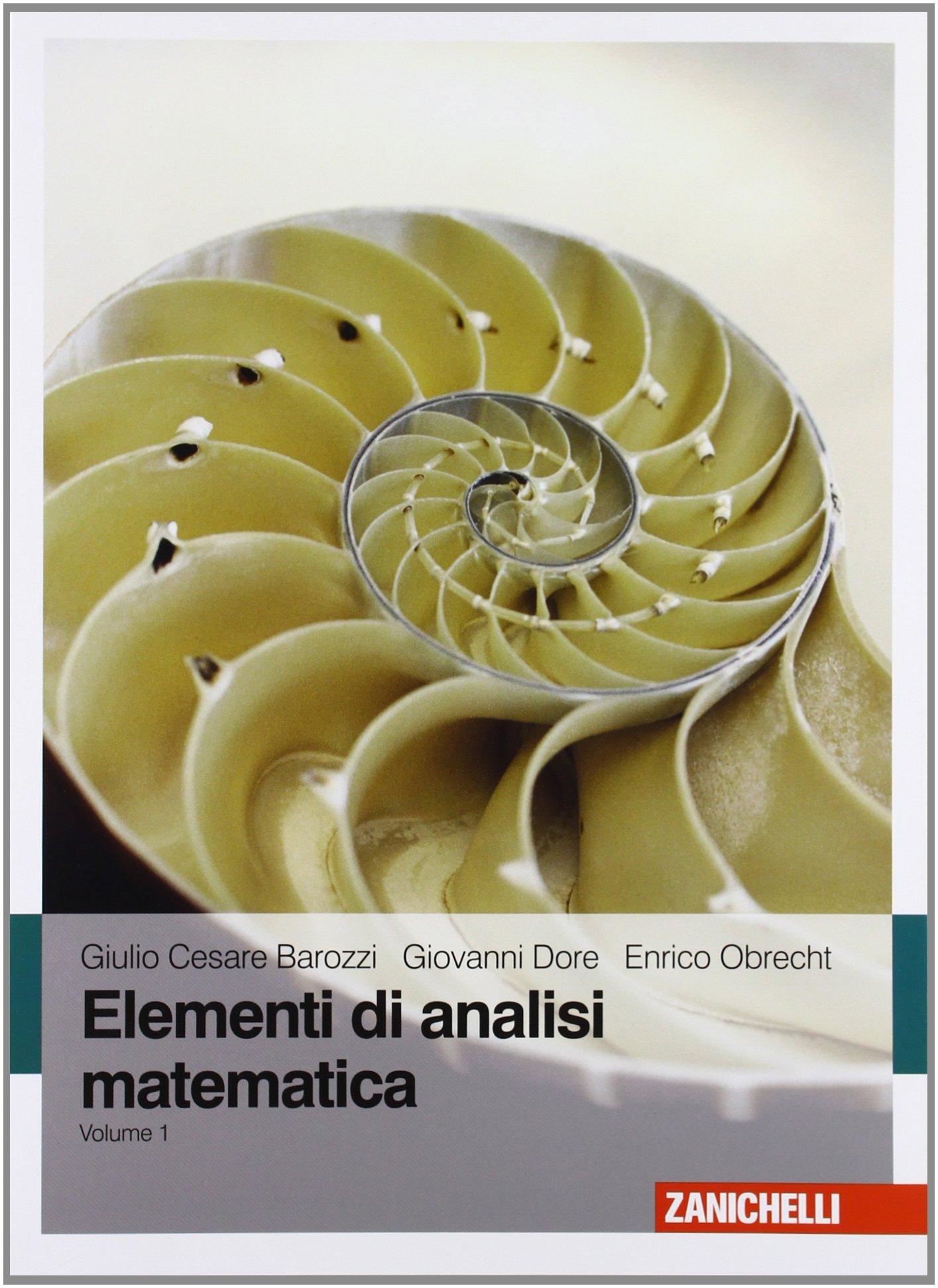 Elementi di analisi matematica - Vol. 1
