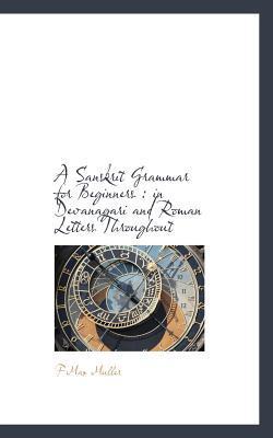 A Sanskrit Grammar for Beginners