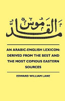An Arabic-English Lexicon