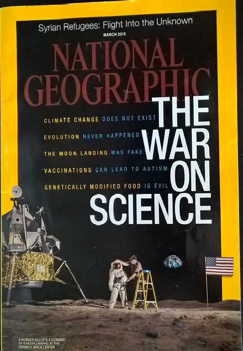 National Geographic, March 2015