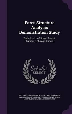Fares Structure Analysis Demonstration Study