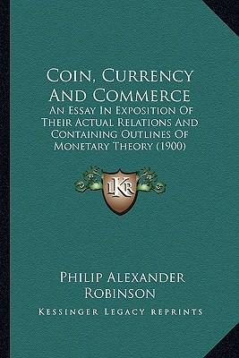Coin, Currency and Commerce