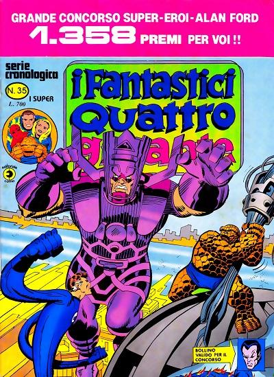 I Fantastici Quattro Gigante n. 35