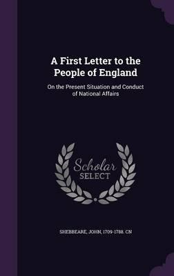 A First Letter to th...