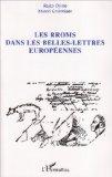 Rroms dans les belles-lettres européennes