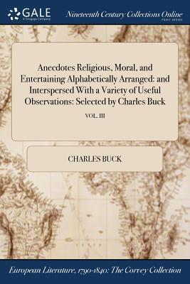 Anecdotes Religious,...