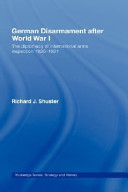 German Disarmament After World War I