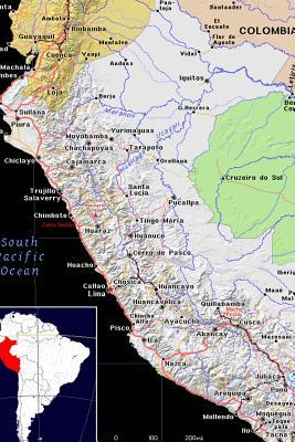 Modern Day Color Map of Peru Journal