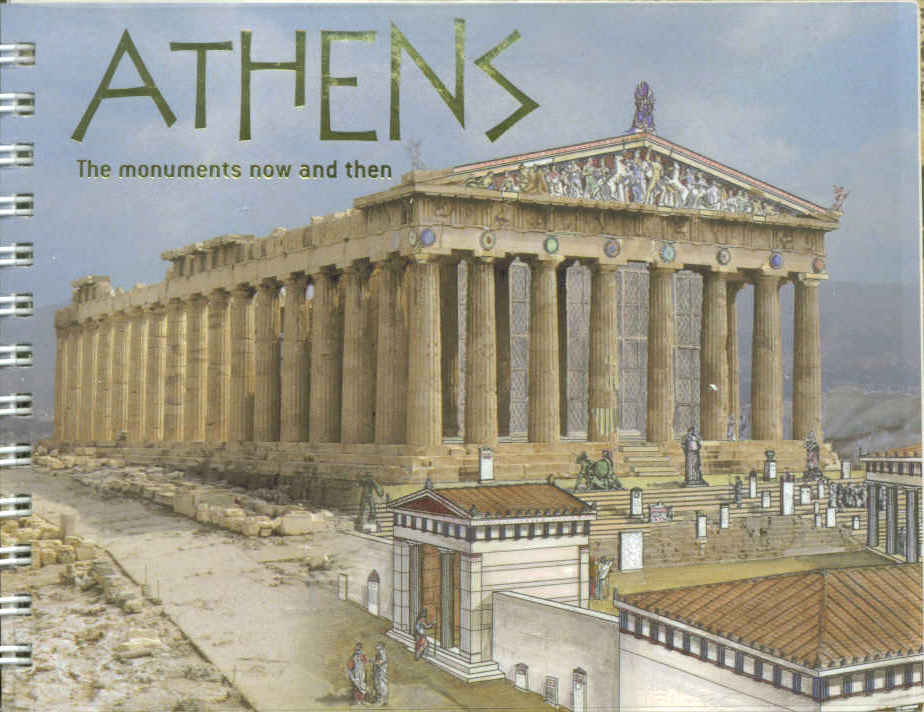 Athens - The Monuments Now and Then