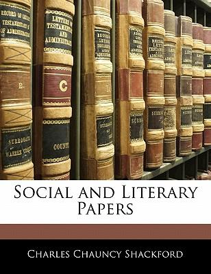 Social and Literary Papers