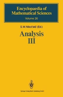 Analysis III