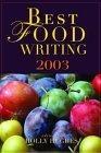 Best Food Writing 2003