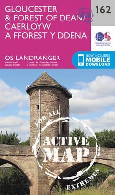 Landranger Active (162) Gloucester & Forest of Dean