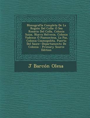 Monografia Completa de La Region del Colla