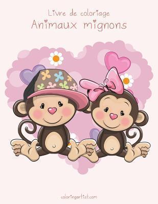 Livre De Coloriage Animaux Mignons