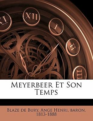 Meyerbeer Et Son Temps