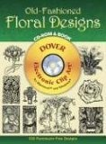 Old-Fashioned Floral Designs CD-ROM and Book