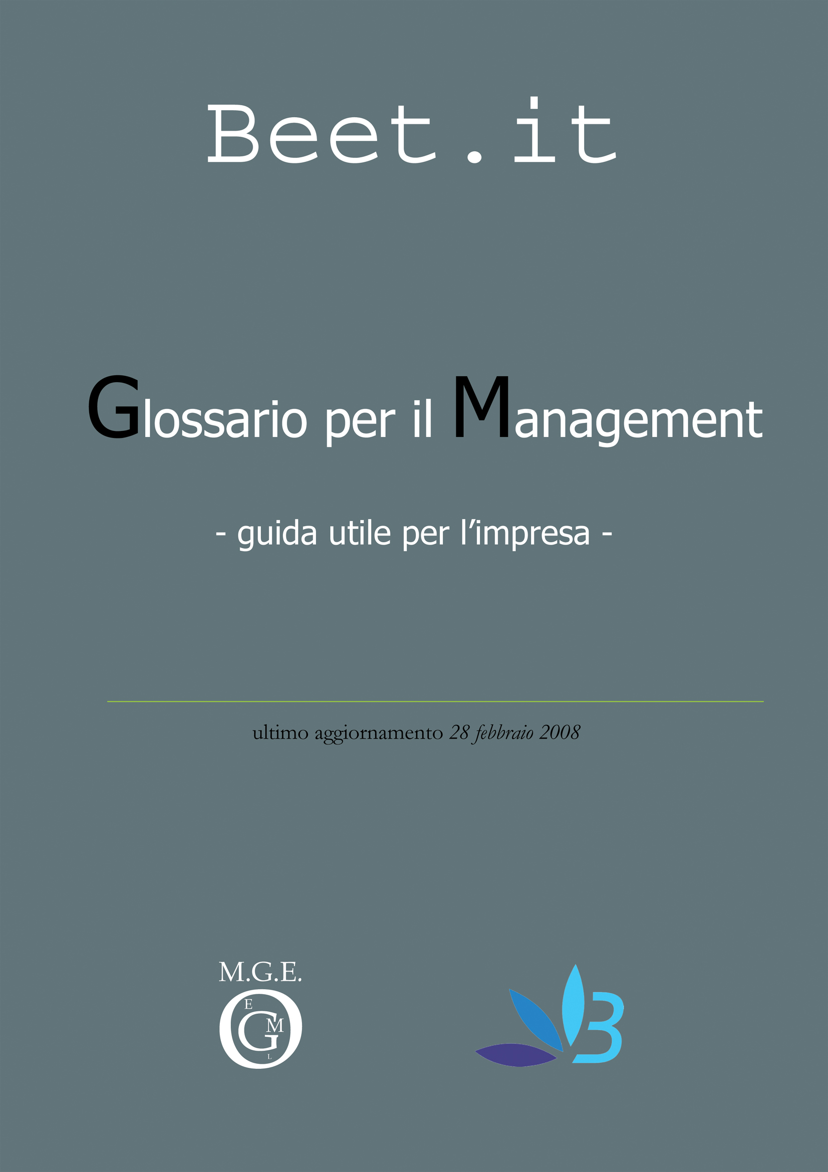 Glossario per il management. Guida utile per l'impresa