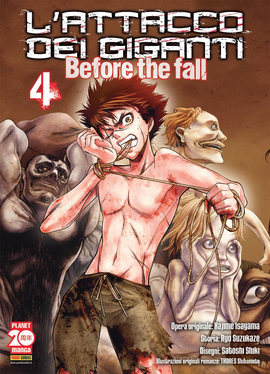 L'attacco dei Giganti - Before the Fall vol. 4