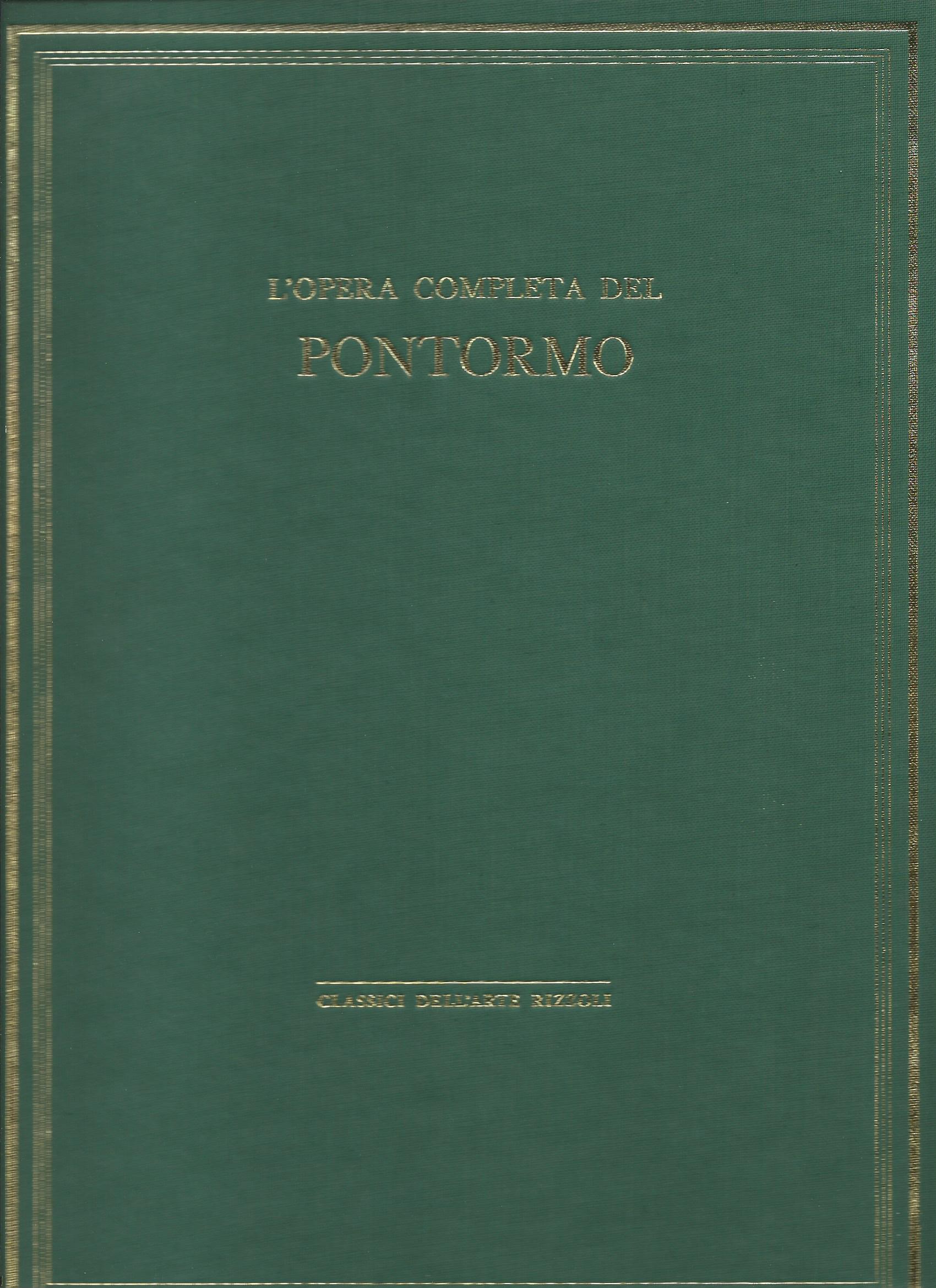L'opera completa del Pontormo (Jacopo Carucci)
