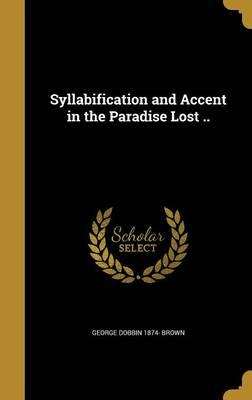 SYLLABIFICATION & ACCENT IN TH