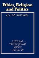 Ethics, religion and politics