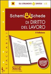 Schemi & schede di diritto del lavoro