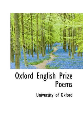 Oxford English Prize...