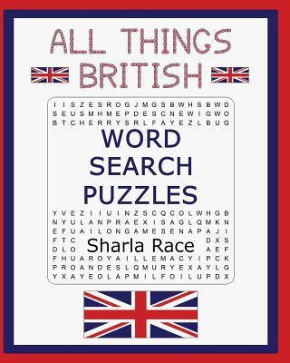 All Things British Word Search Puzzles