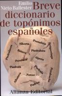 Breve diccionario de topónimos españoles