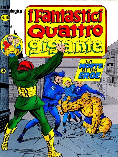 I Fantastici Quattro Gigante n. 18